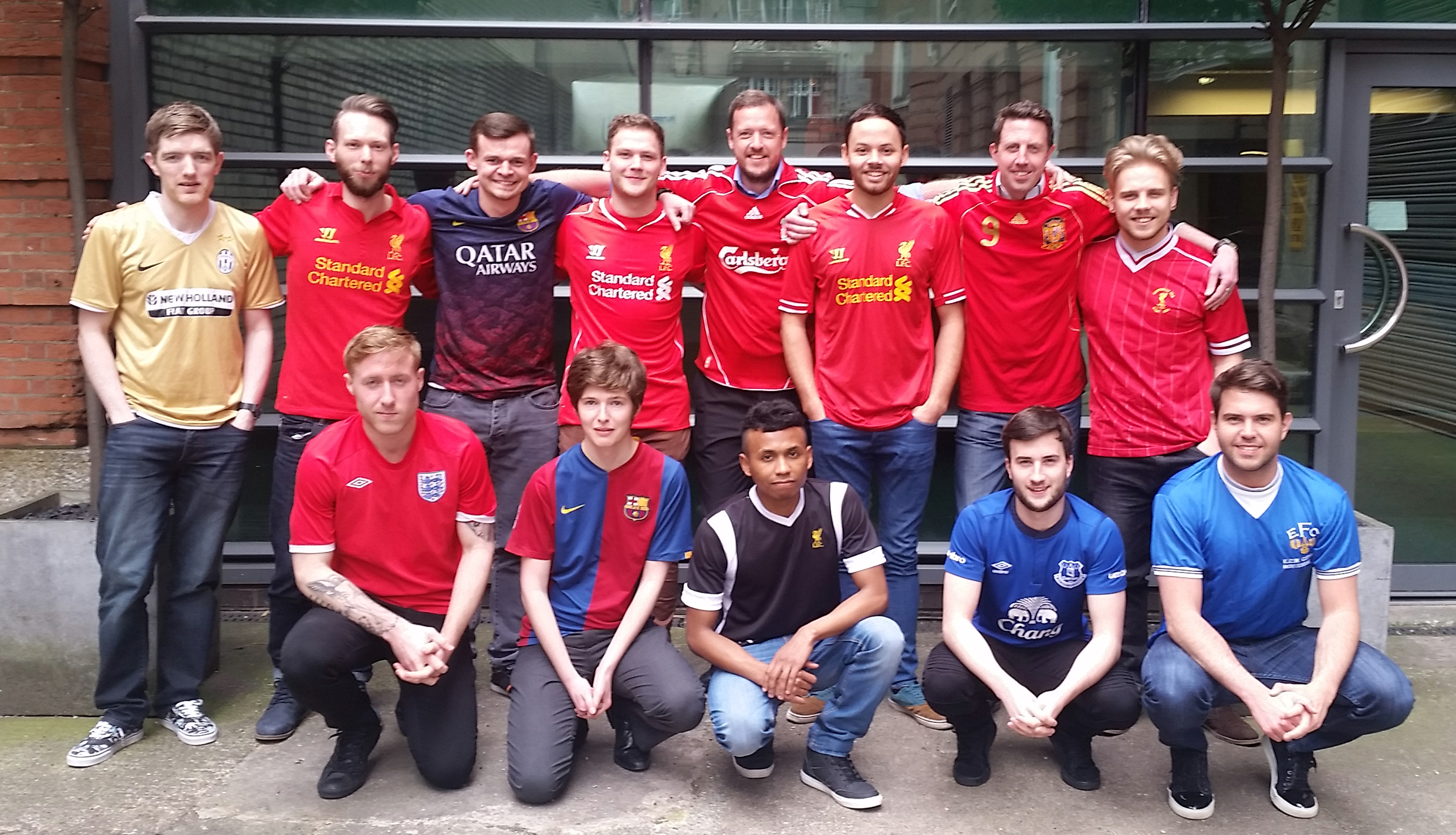 Webrevolve Team  outside the Liverpool Office