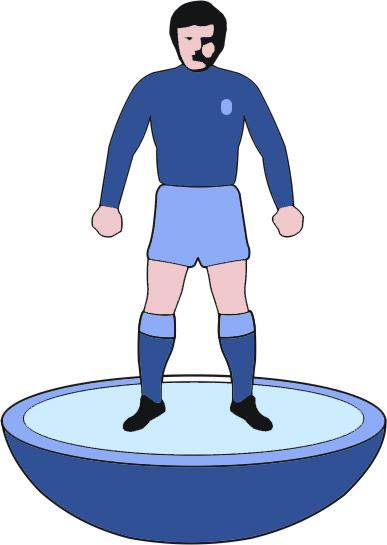 Webrevolve subbuteo blue man