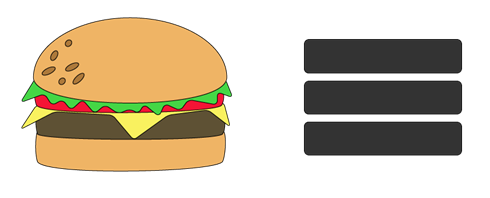 Hamburger clipart and 3 lines menu hamburger