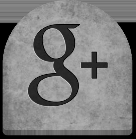 Google+ Gravestone