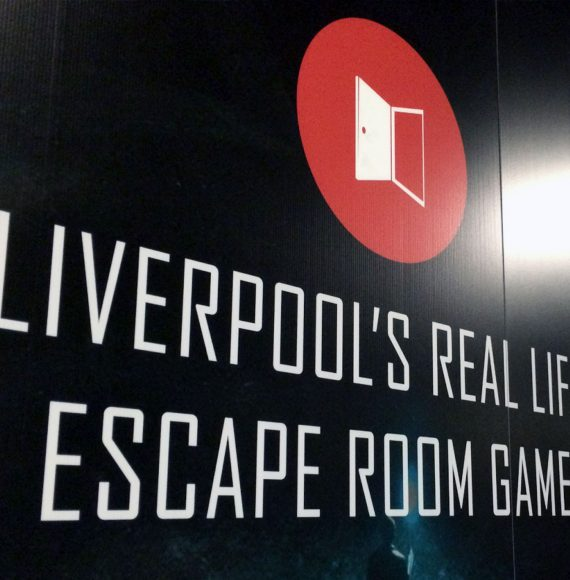 Image of Liverpool's Real Life Escape Room Game image print on wall